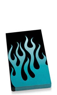 Blue Flames Guest Towel Napkins