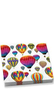Hot Air Balloons Beverage Napkins