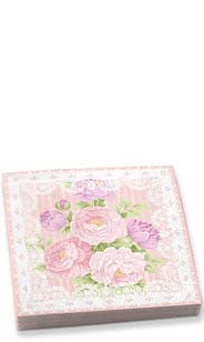 Floral & Lace Vintage Chic Dinner Napkins