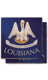 Louisiana Stone Coasters