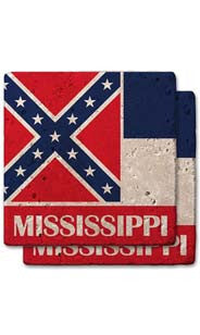 Mississippi Stone Coasters