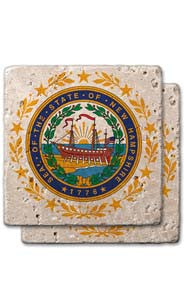 New Hampshire Stone Coasters
