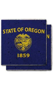 Oregon Stone Coasters