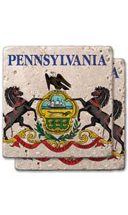 Pennsylvania Stone Coasters
