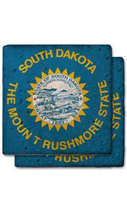 South Dakota Stone Coasters