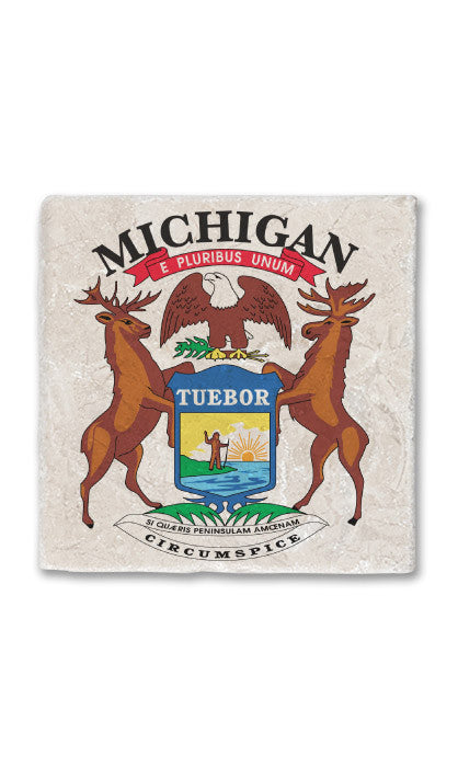 Michigan Stone Magnet
