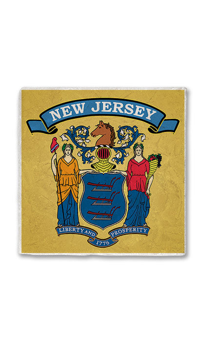 New Jersey Stone Magnet