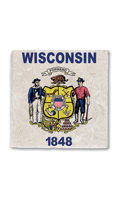 Wisconsin Stone Magnet