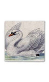 Peaceful Swan Stone Magnet