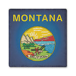 Montana Absorbent Ceramic Coaster