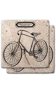 Bicycle Co. Stone Coaster Set