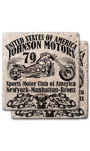 '79 Motors Stone Coaster Set
