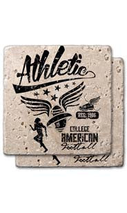 Athletic League Stone Coaster Set