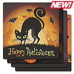 Halloween Absorbent Ceramic Coaster Set