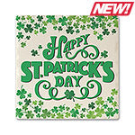 Happy St. Patricks Day Absorbent Ceramic Coaster