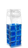 Blue Wine Chill™ Gel Tote - bottler cooler