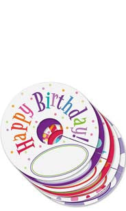Happy Birthday My Glass® Tags