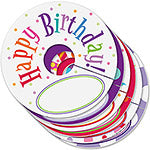 Happy Birthday My Glass Tags