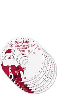 Santa Baby My Glass® Tags