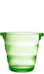 Swirl Acrylic Ice Bucket - Green