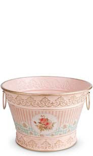 Floral Vintage Chic Ice Bucket - Small