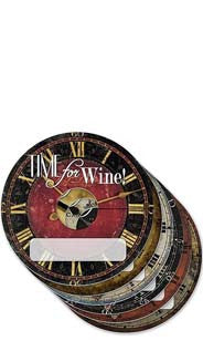 Time for Wine My Glass® Tags