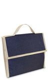 Portable Wine & Cheese Picnic Tote - Dark Blue