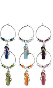Enamel Flip Flops My Glass® Charms