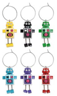 Robot Party My Glass® Charms
