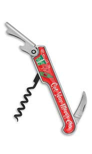 Get Your Merry On Enamel Corkscrew