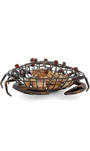The Original CORK CAGE® Cork Holder - Crab