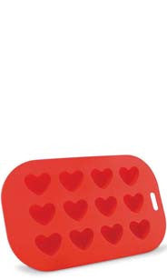 Red Heart Ice Cube Tray