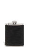 Leather Zig-Zag Flask - flask