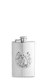 Horse & Horseshoe Flask
