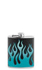 Blue Flames Flask - flask