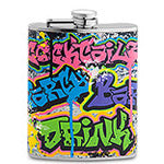 Graffiti Flask - flask
