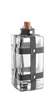 Apothecary Glass Bottle - Black