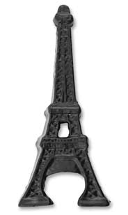 Eiffel Tower Bottle Opener - Black