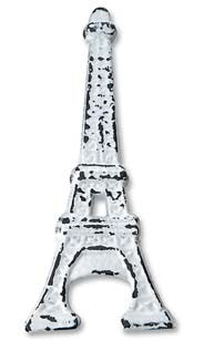 Eiffel Tower Bottle Opener - White