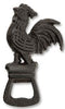 Cast Iron Rooster Bottle Opener - beer bottle opener