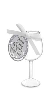 Our Big Day Wine Glass Favor