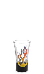 Rock On Hand Decorated Shot Glass