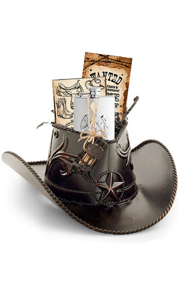 Cowboy Hat Holder Gift Set