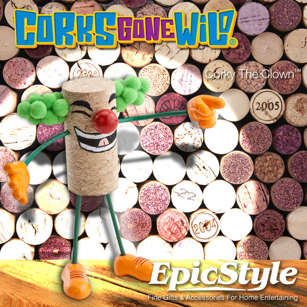 Corks Gone Wild® Collectable - Corky The Clown™
