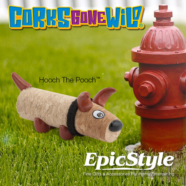 Corks Gone Wild® Collectable - Hooch The Pooch™