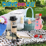 Corks Gone Wild® Collectable - Mrs. Emily Corkington™