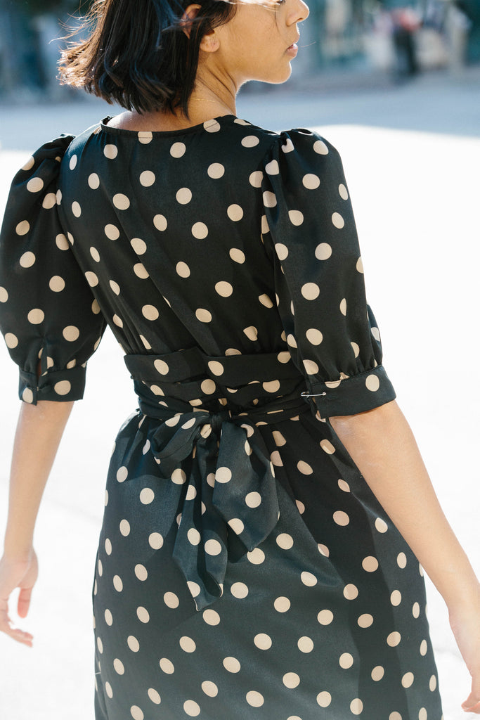 Ari Dress - Polka Dot
