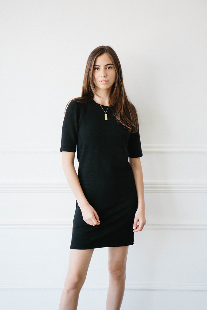 Kiowa Knit Dress - Black