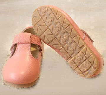 Girls genuine leather princess  shoes