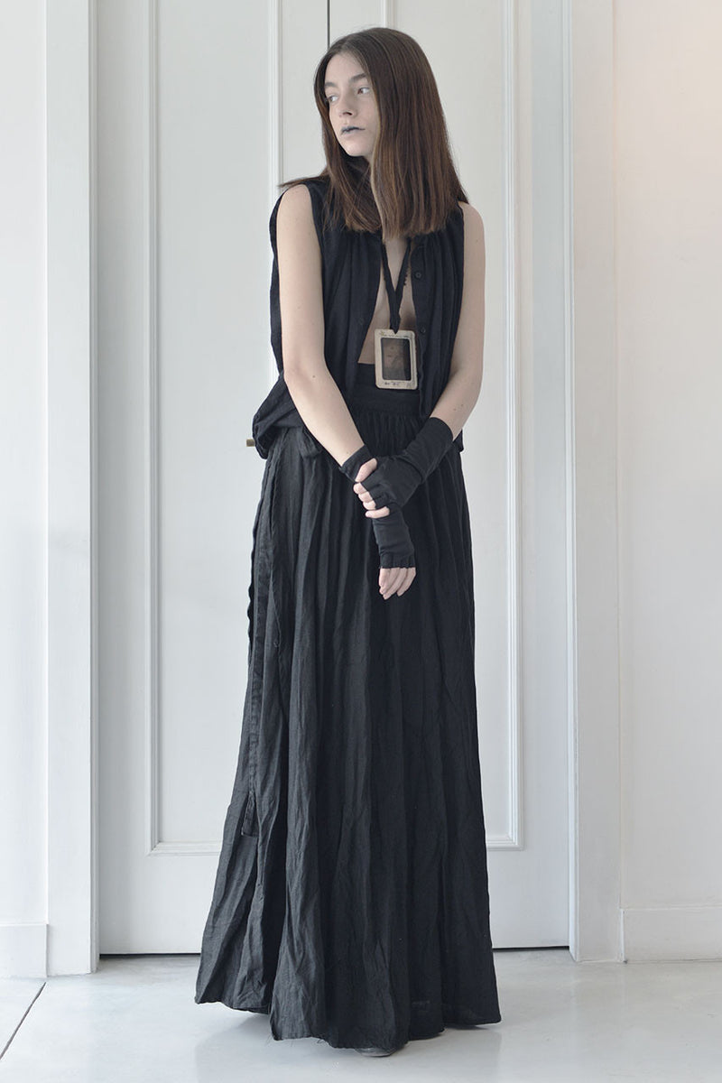 wrap around linen maxi skirt | maxi linen black skirt online | evening skirts | Long elegant skirts | Long skirts trend | Maxi summer 2017 skirts | Summer skirts sale | Skirts Online Shopping | Free Worldwide Shipping | Israeli clothing brands | Israeli Fashion Designers | Shopping Mall Tel Aviv | Yafo Tel Aviv Fashion | Israel Online Shopping | Flea Market Jaffa Fashion Studio | Shopping Mall Tel Aviv | TLV Fashion Mall | Yafo Tel Aviv Fashion - black -5